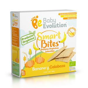 Galleta Smart Bites Banano y Calabaza 60gr