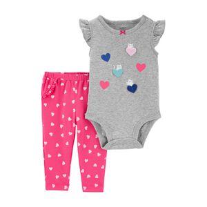 Set Body Estampado y Pantalón Carter's - Bebés