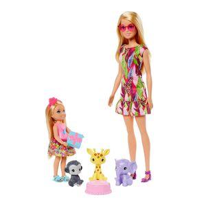 Set Chelsea y Animales de Selva - Barbie