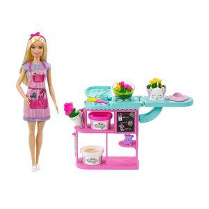 Set de Tienda de Flores Barbie