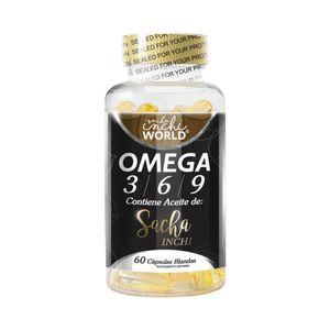 Cápsulas Blandas de Omega 3 Superfuds 60 Unidades