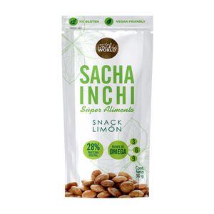 Almendra Horneada de Sacha Inchi Superfuds 30 gr - Snack Limón