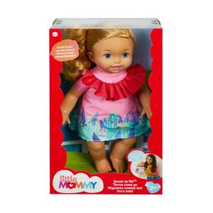 Muñeca Tierna como Yo Little Mommy - Vestido Rosado con Cactus