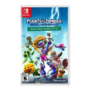 Videojuego Nintendo Switch Plants vs Zombies: La Batalla de Neighborville