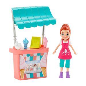 Set Stand de Helados Lila - Polly Pocket
