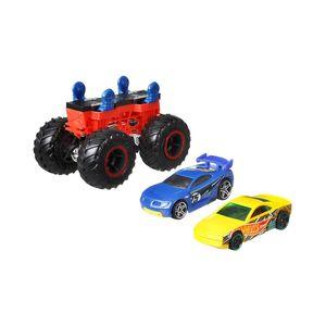 Carro Monster Truck Maker Rojo - Hot Wheels