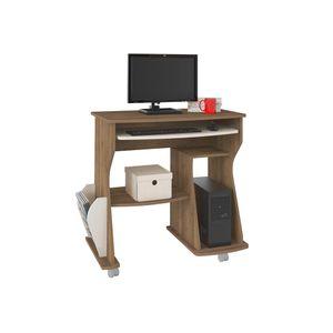 Mesa Para Computadora 160 Bertolini - Pino Con Blanco