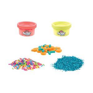 Set Masa Slime Sorpresas y Confetis Rosa y Amarillo - Play-Doh