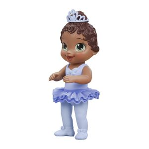 Bebé Bailarina de Ballet Castaña Oscuro - Baby Alive