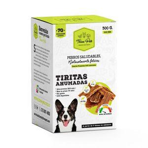 Bombonera Tiritas Ahumadas para Perros 500g - Three Pets