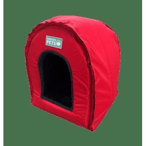 Casa Iglú para Mascotas - Rojo