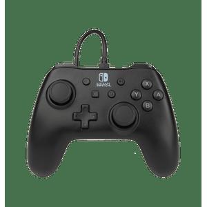 Control Alámbrico Nintendo Switch Negro - Power A